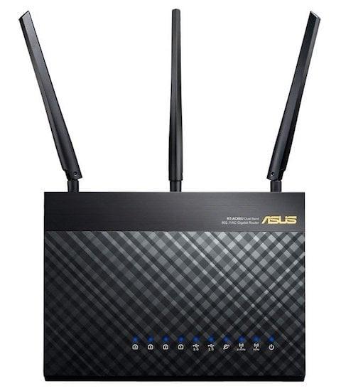 ASUS Dual-band Wireless-AC1900 Gigabit Router, Black ( RT-AC68U)