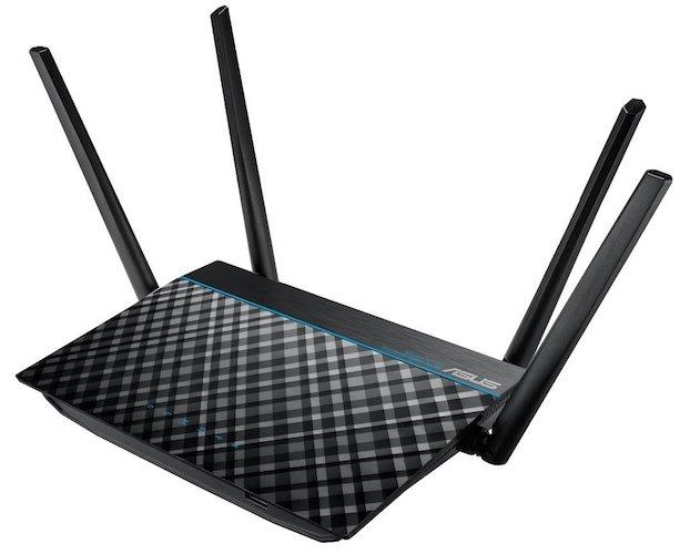 ASUS RT-ACRH13 Dual-Band 2x2 AC1300 Wifi 4-port Gigabit Router