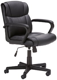 amazonbasics-mid-back-office-chair-in-black-bonded-leather