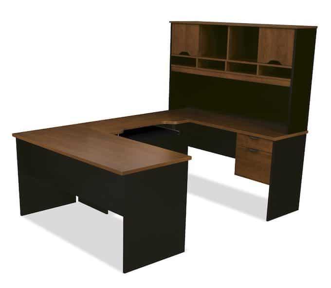 Bestar Desks Bestar Manhattan U Shaped Desk 81411 75