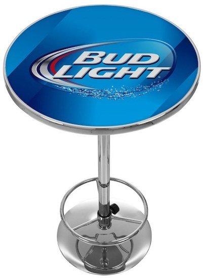bud-light-chrome-pub-table