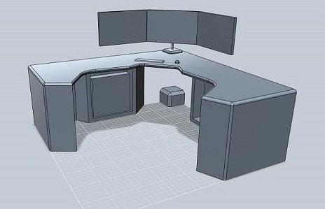 Corner Desk Multi Monitor Best Computer Desks For Gaming