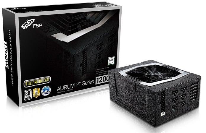 FSP Group PT FM series 1200W ATX 12V v2.4 and EPS 12V v2.92 80 Plus Platinum Certified