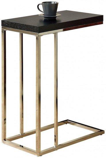 monarch-specialties-black-hollow-core-end-table