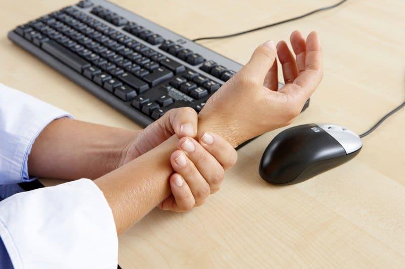 Office Ergonomics Wrist Rests