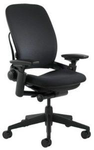 Steelcase Leap Chair Black Fabric