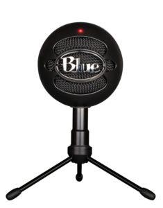 blue microphones snowball ice black mic