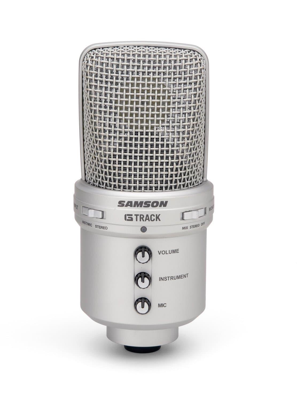 samson g-track usb condensor mic