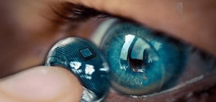 Samsung AR Contact Lenses