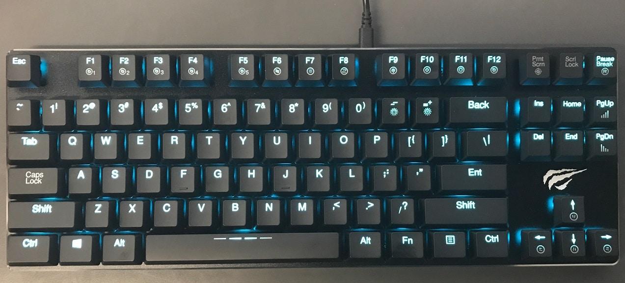 Havit HV-KB390L Low Profile Mechanical Backlit Keyboard Review 3