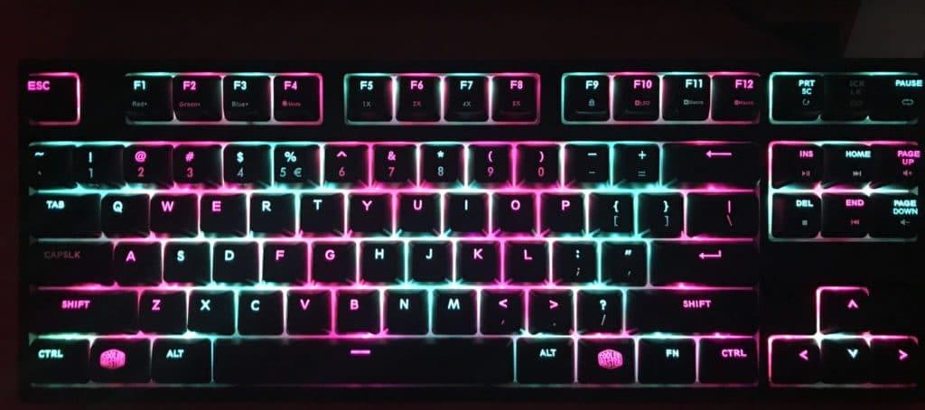 Cooler Master Masterkeys Pro S Keyboard Review 5