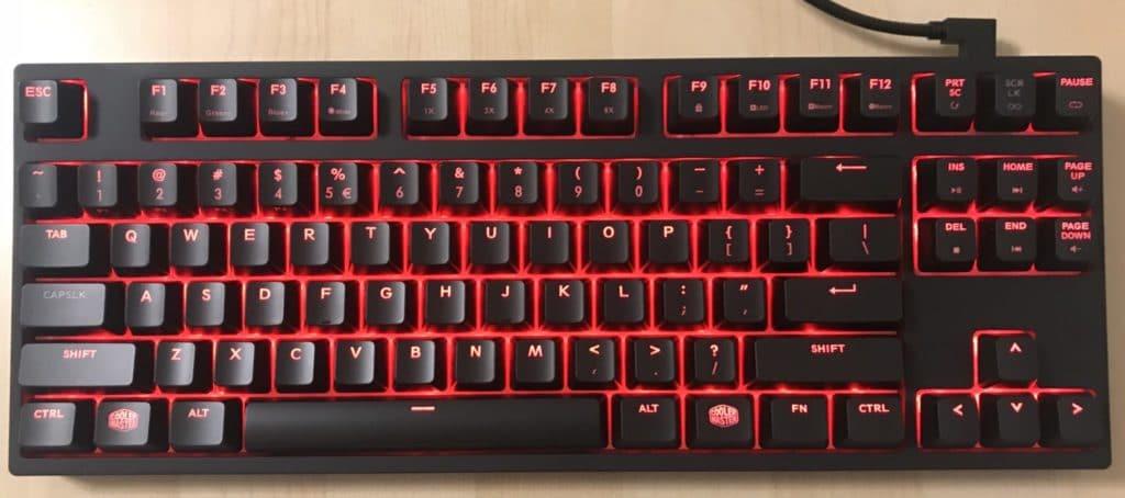 Cooler Master Masterkeys Pro S Keyboard Review 6