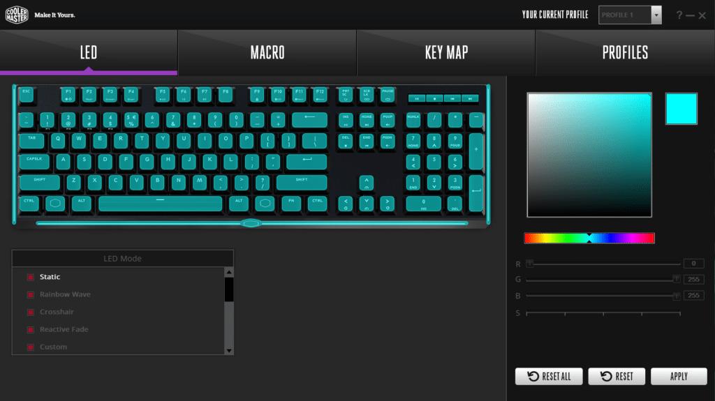 Cooler Master MasterKeys MK750 Keyboard Review 1