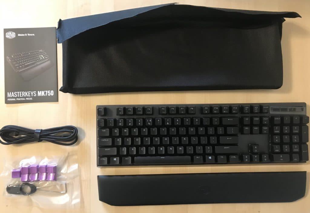 Cooler Master MasterKeys MK750 Mechanical Keyboard Review 3