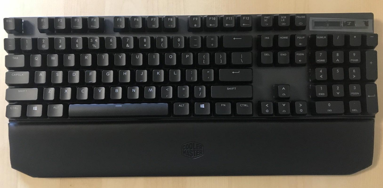 Cooler Master MasterKeys MK750 Mechanical Keyboard Review 4