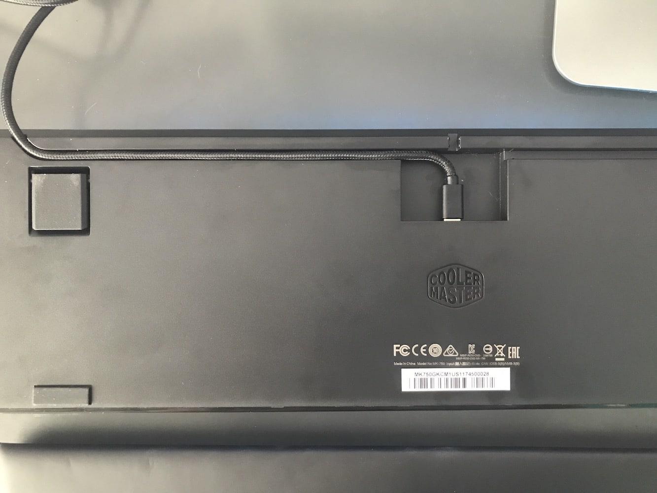 Cooler Master MasterKeys MK750 Mechanical Keyboard Review 9