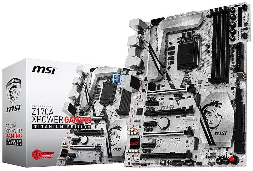 MSI Computer 7968-001R MSI Enthuastic Gaming Intel Z170A LGA 1151 DDR4 USB 3.1 ATX Motherboard