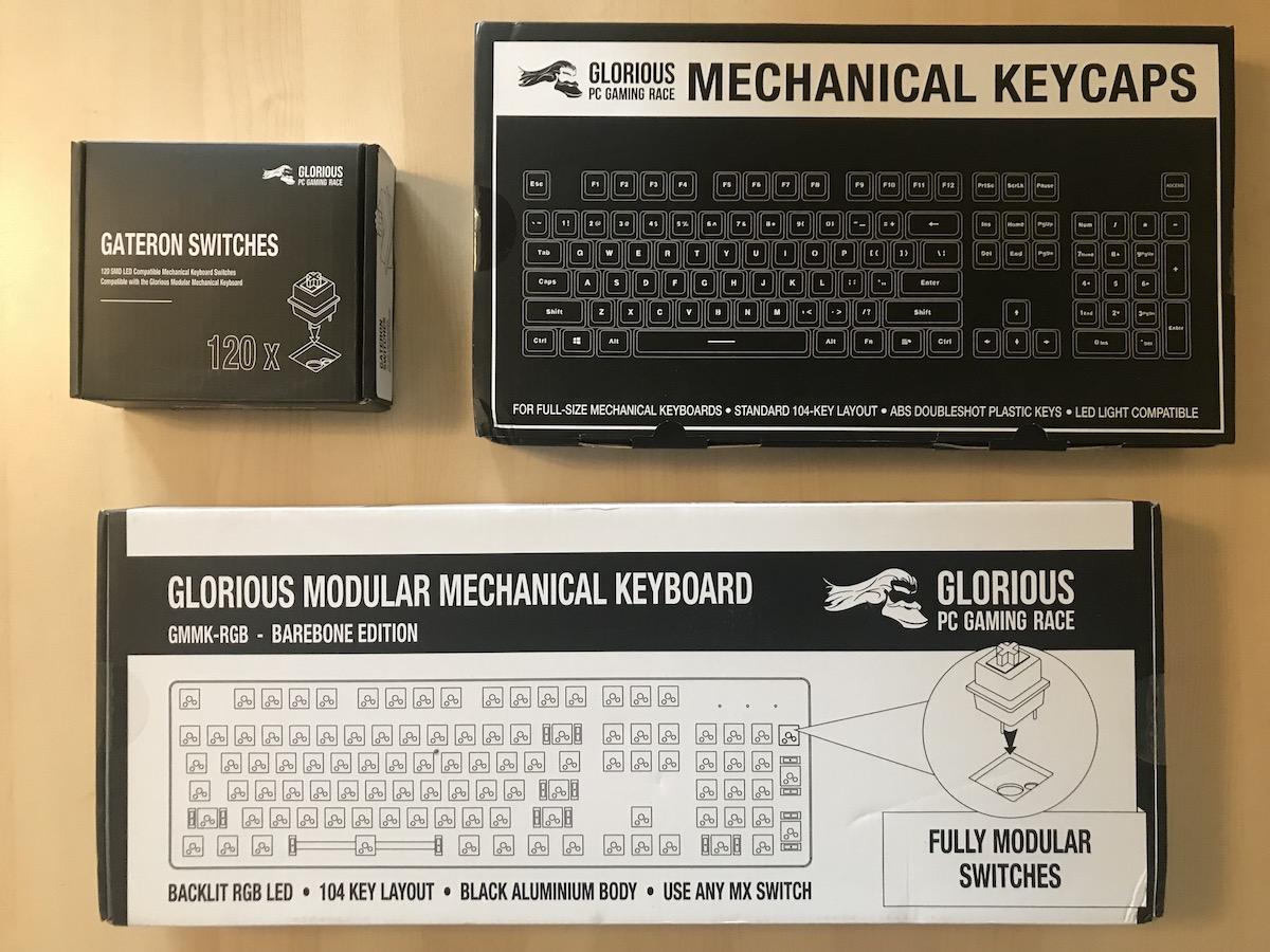 Glorious PC Gaming Race Modular Gaming Mechanical Keyboard Model GMMK-RGB Review 1