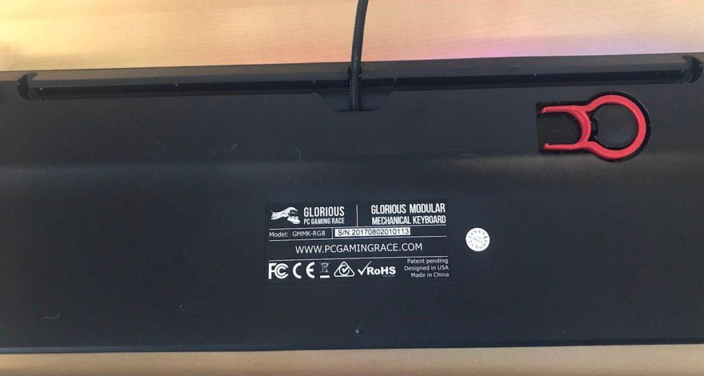Glorious PC Gaming Race Modular Gaming Mechanical Keyboard Model GMMK-RGB Review 11