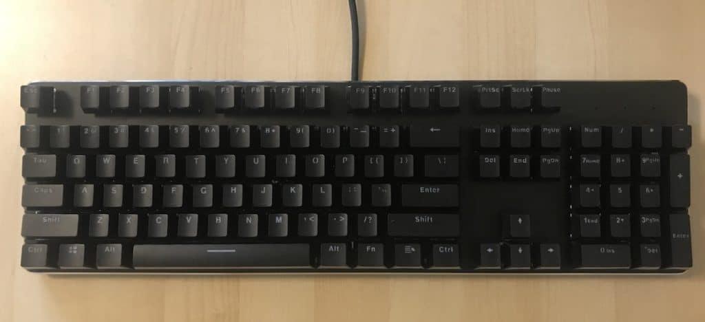 Glorious PC Gaming Race Modular Gaming Mechanical Keyboard Model GMMK-RGB Review 9