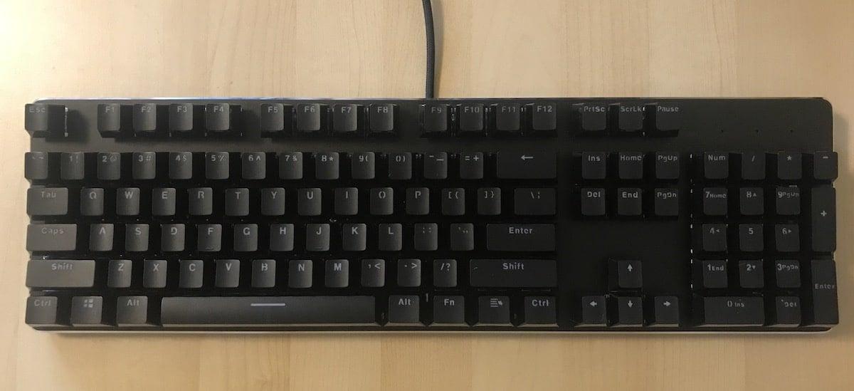 Glorious PC Gaming Race Modular Gaming Mechanical Keyboard Model GMMK-RGB Review