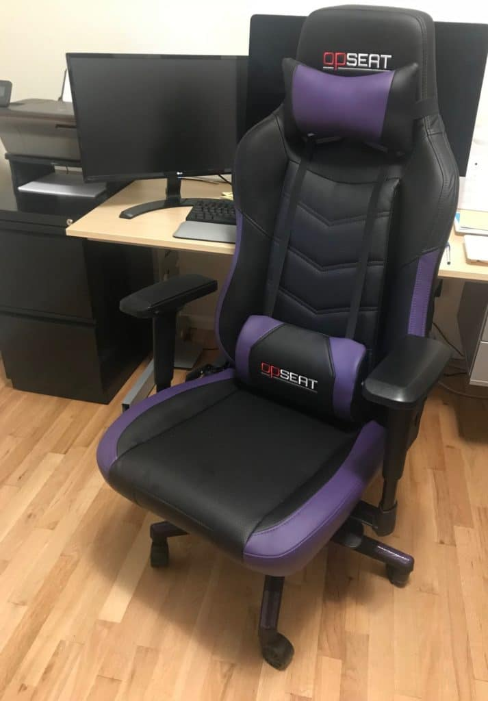 OPSEAT Grandmaster Series Gaming Chair Review 8