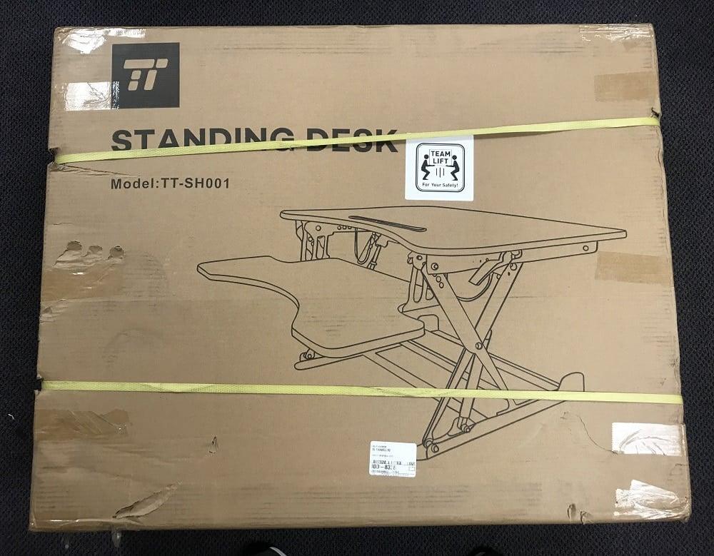 TaoTronics Adjustable-Height Standing Desk Review 1