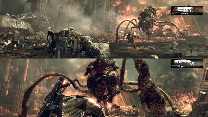 Xbox Split Screen Game Example