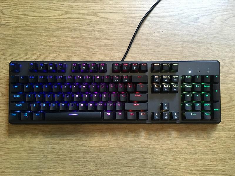 Tecware Phantom Mechanical Gaming Keyboard Review 3 High