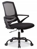 Ergonomic Mesh Computer Midback Task Chair by Best Massage