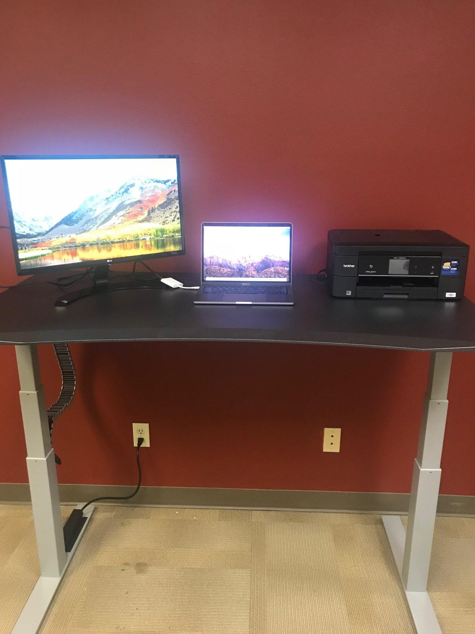 MojoDesk Standing Desk Raised 2
