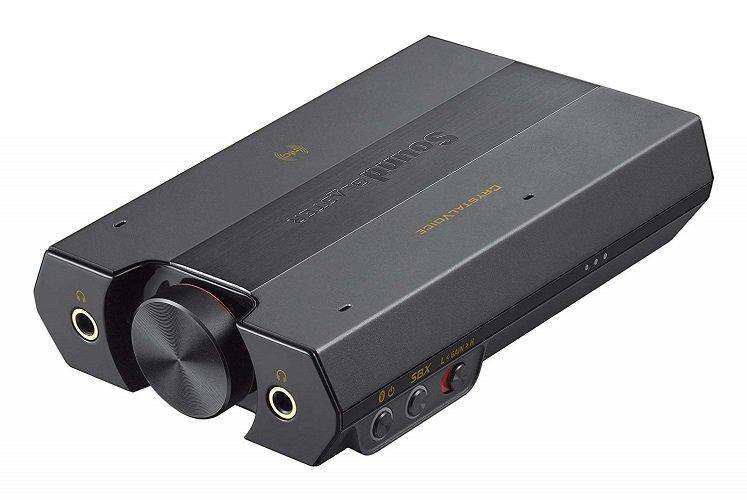 Creative Sound Blaster E5 High-Resolution USB DAC 600 ohm Headphone Amplifier with Bluetooth