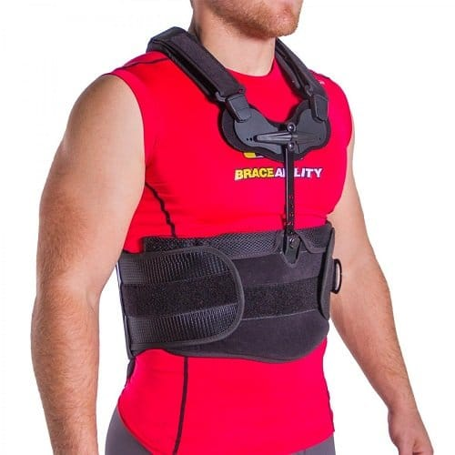 Cybertech Medical TLSO Thoracic Full Back Brace