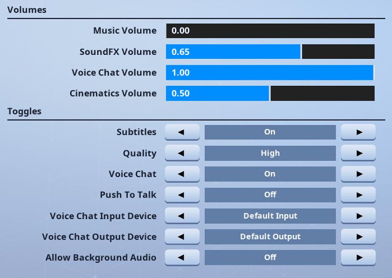 Fortnite Audio Settings High Ground Gaming