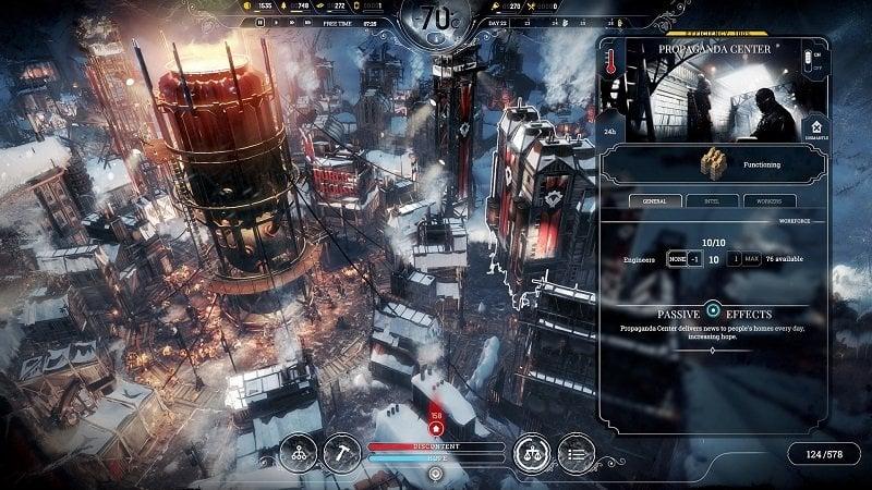 Frostpunk Gameplay Screenshot 1