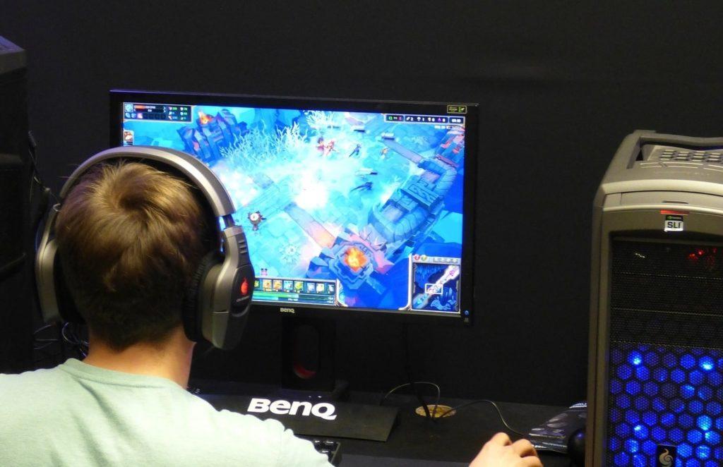 gaming kid