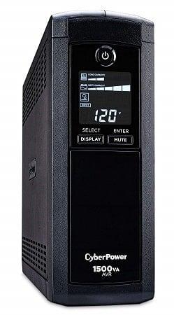 CyberPower CP1500AVRLCD Intelligent LCD UPS System-min
