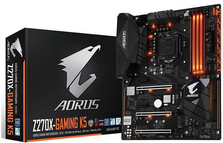 GIGABYTE AORUS GA-Z270X-Gaming K5 Gaming Motherboard