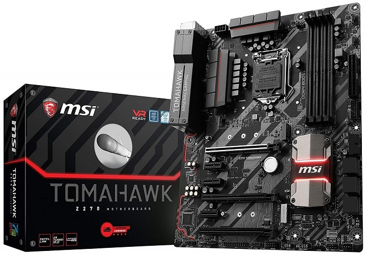 MSI Arsenal Gaming Intel Z270 Tomahawk Motherboard