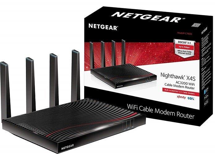 NETGEAR Nighthawk X4S DOCSIS 3.1 Ultra-High Speed Wifi Cable Modem Router Combo-min