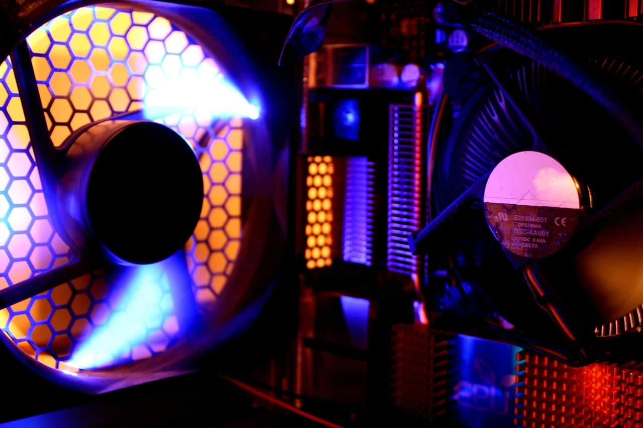 LED fan