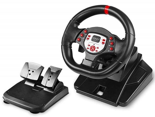 DOYO Pro Sport Steering Racing Wheel-min