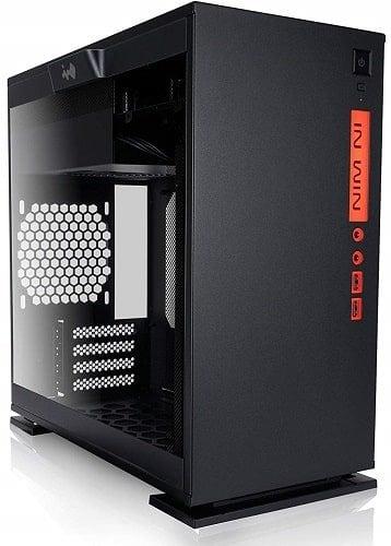 InWin 301 Black Tempered Glass Premium Micro-ATX Mini-ITX Tower Gaming Computer Case-min