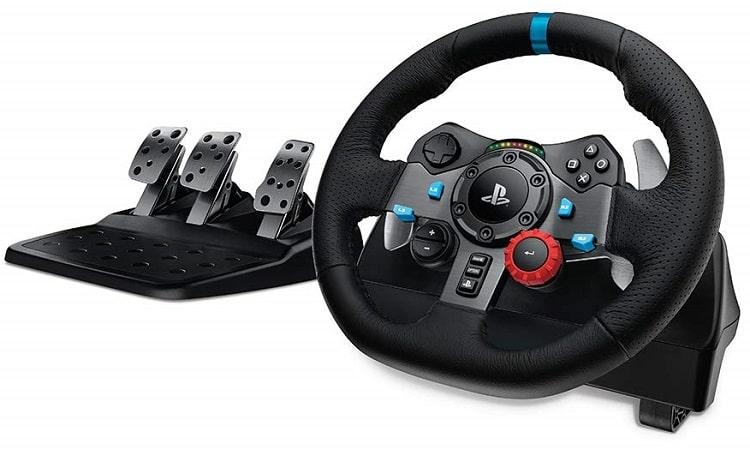 Logitech Dual-motor Feedback Driving Force G29 Gaming Racing Wheel-min