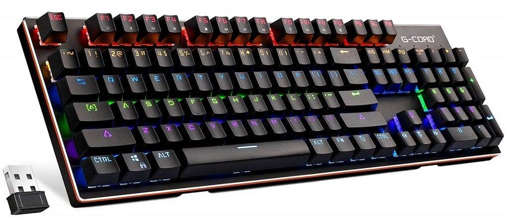 G-Cord Wireless Mechanical Keyboard-min