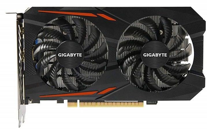 Gigabyte Geforce GTX 1050 2GB GDDR5 128 Bit PCI-E Graphic Card-min