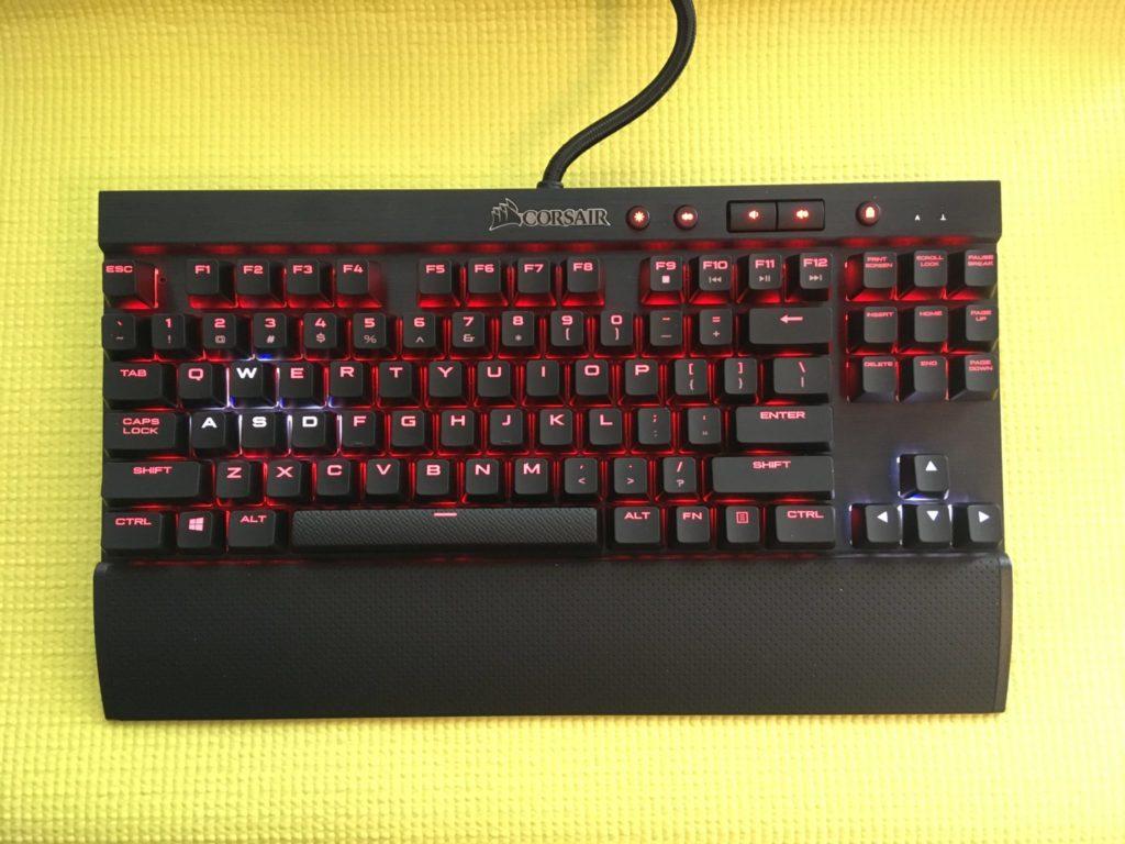 Corsair K65 Lux Gaming Keyboard Review High Ground Gaming