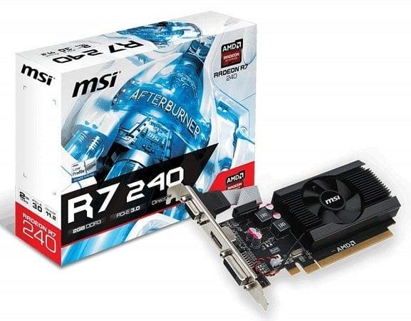 MSI AMD Radeon R72402364P 2GB-min