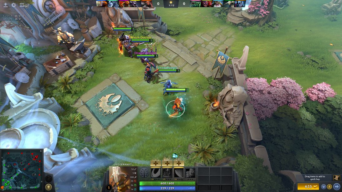 Featured MOBA Games