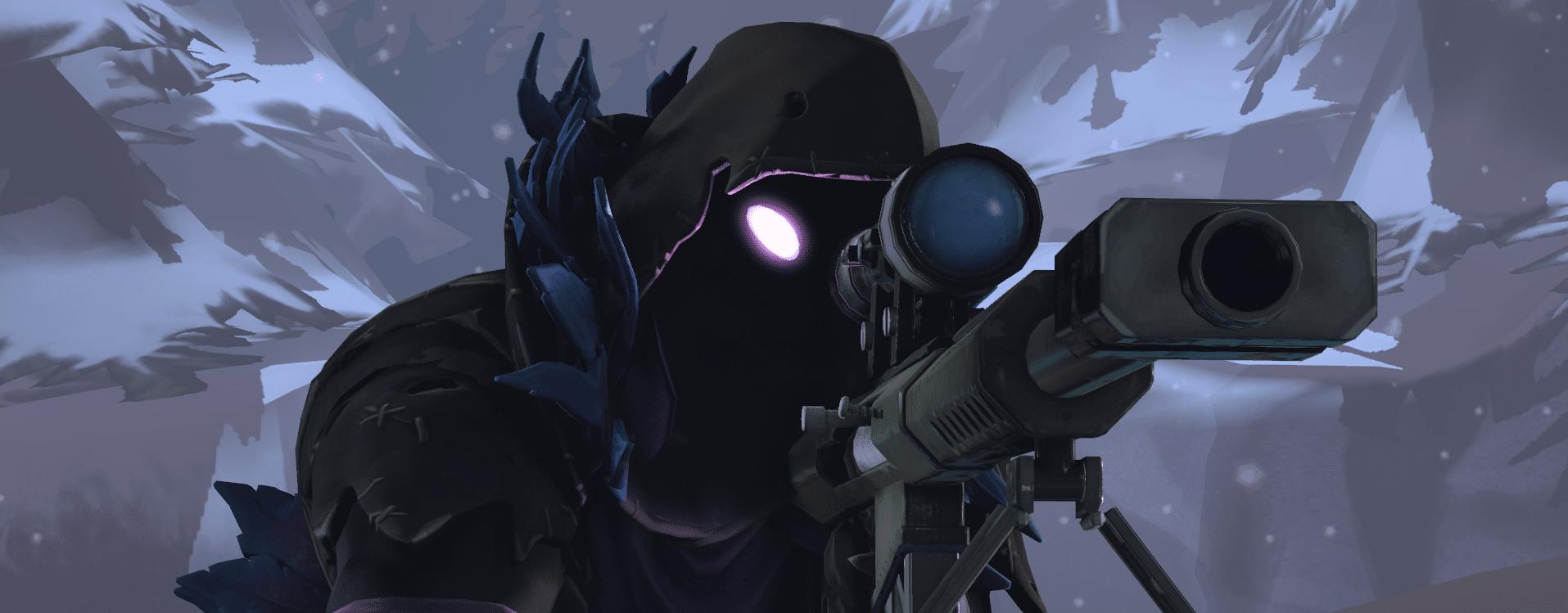 Fortnite Glowing Sniper